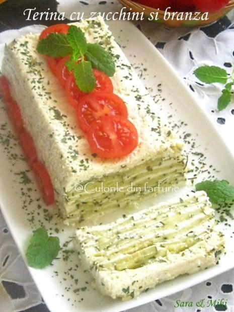 Terina cu zucchini si branza-1