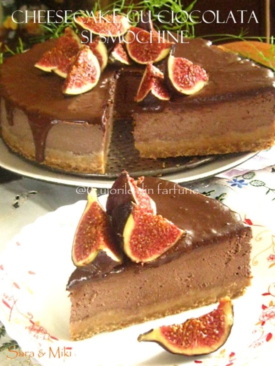 cheesecake-cu-ciocolata-si-smochine-1