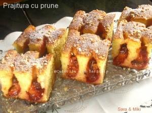 6. Prajitura cu prune