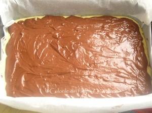 4. Intindem blatul cu cacao.
