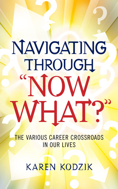 "Navigating through ""Now what?"" cover"