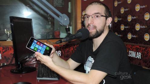 cultura geek reseña analisis lumia 535