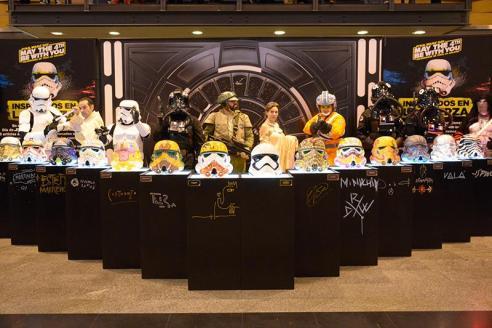 Personajes + Evento Star Wars - Abasto