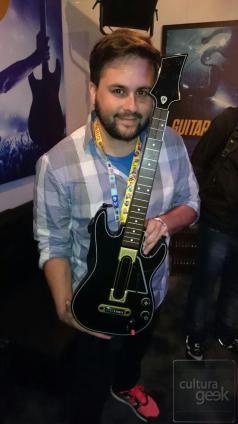 Cultura Geek Guitar Hero Live E3 3