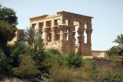 View from Lake Nasser, Philae Temple, Lake Nasser