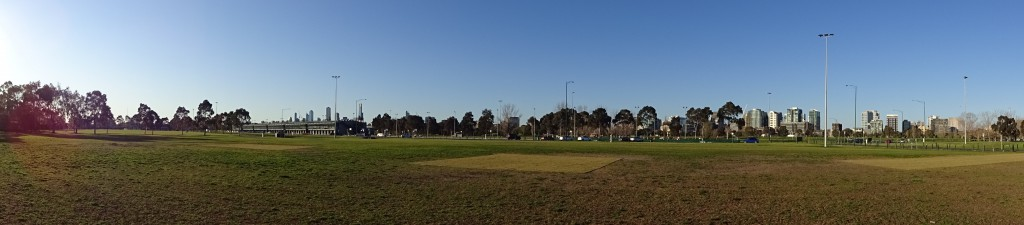 Southern stretch of Albert Park, St Kilda