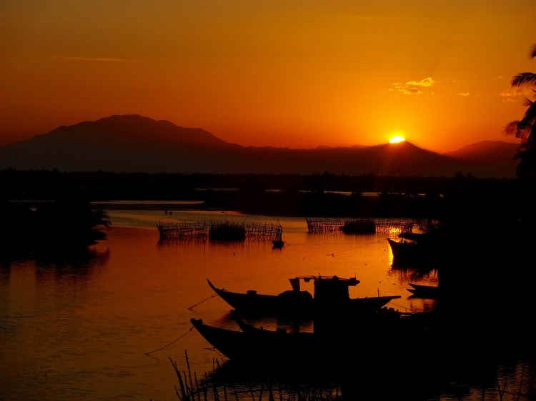 Sunset in Hoi An - Vietnam