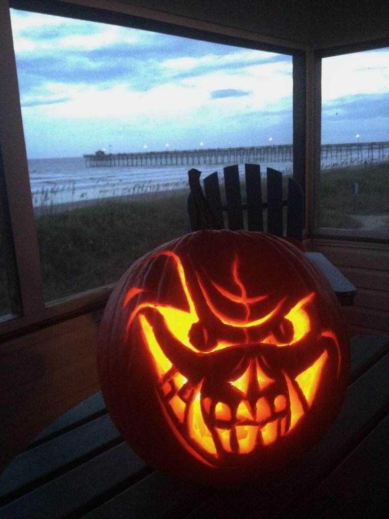 Scary Jack-o-lantern masterpiece