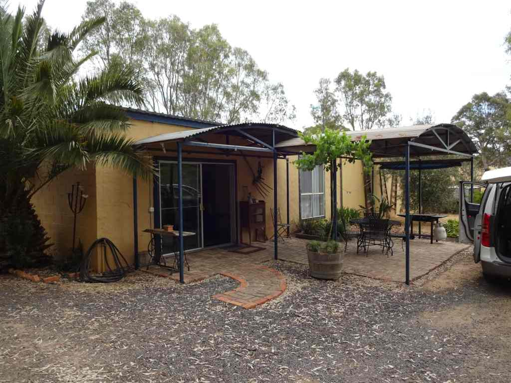 The Apartment: our accommodation in the Grampians National Park, Australia