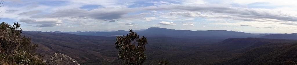 View from Reed Lookout, Grampians National Park, Australia