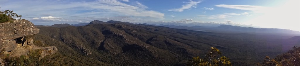 Balconies Lookout, Grampians National Park, Australia