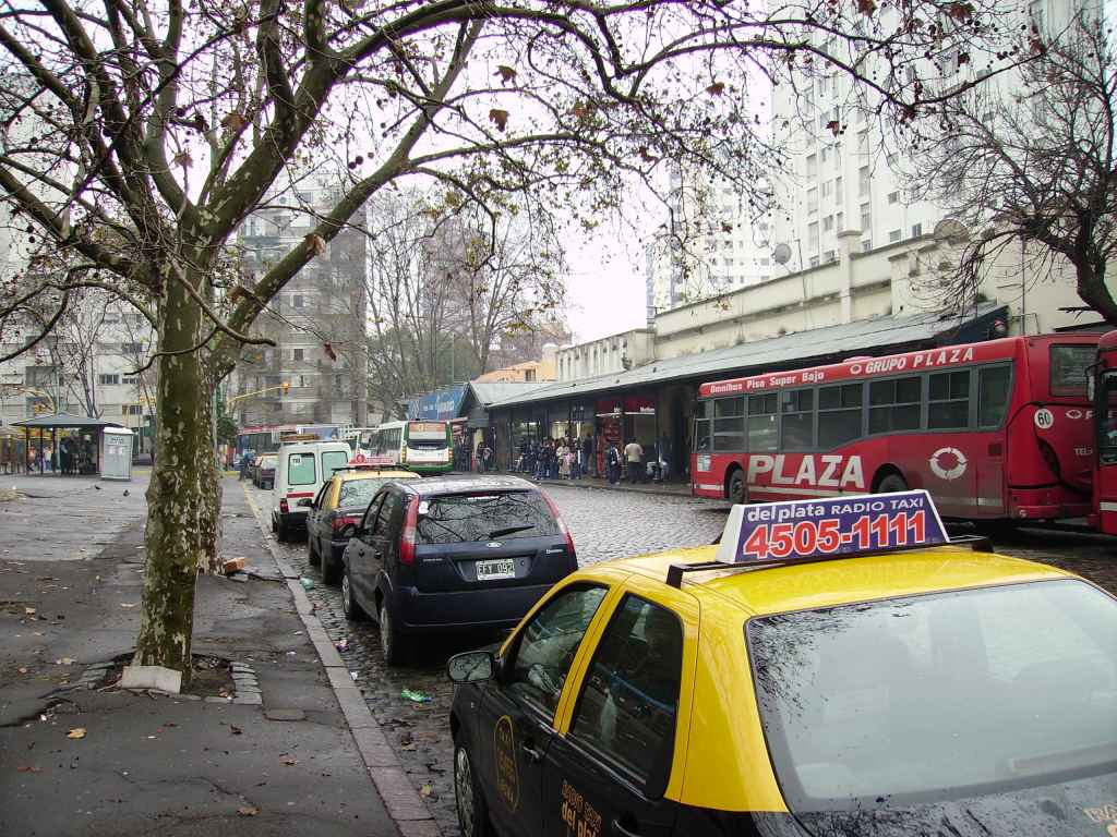Barrancas de Belgrano, the bus station in Buenos Aires I went to and from every day for 6 months