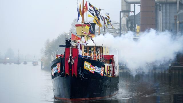 National arrival of Sinterklaas - Meppel 2015