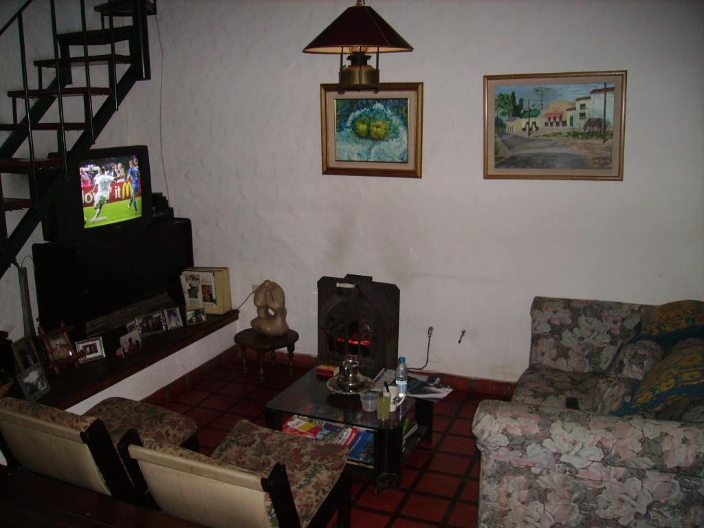 My living room hideout during the first days in Buenos Aires