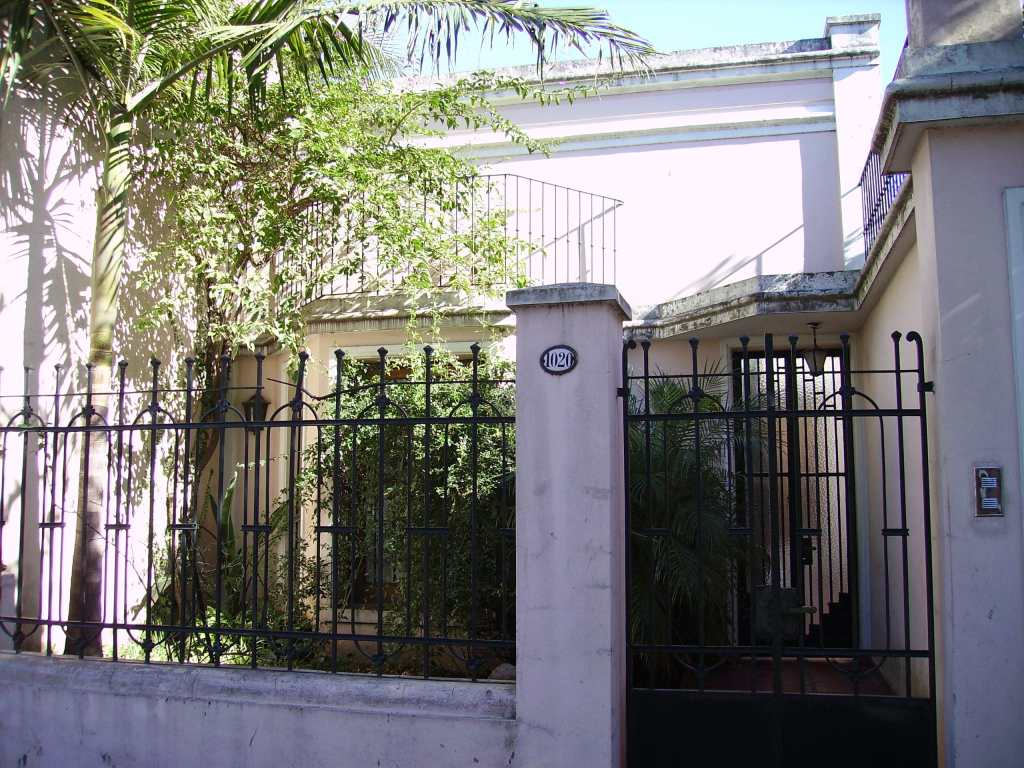 Entrance to my first house in Buenos Aires