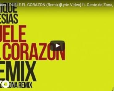 Duele El Corazon Remix