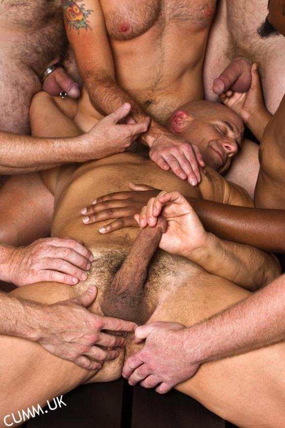 Penis Massage maNY HANDS Sensual