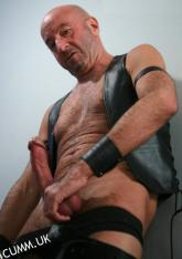 leather daddy hung cumm