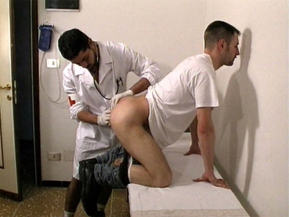 Male anal exam