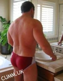 red speedos bubbly butt mature