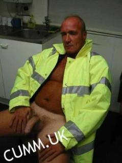 sexy workman exposed mature