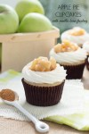 Apple Pie Cupcakes with Vanilla Bean Frosting