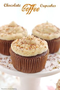 Chocolate Coffee Cupcakes with Coffee Buttercream