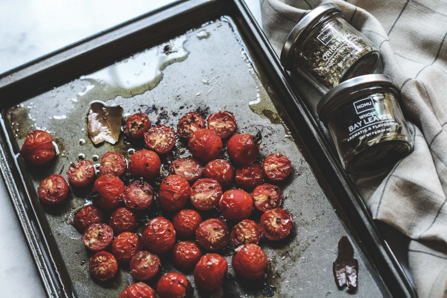 Roasted Tomatoes with Origanum