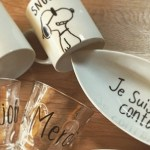 インスタで話題の「らくやきマーカー」で世界に一つのオシャレ食器を作ろう!
