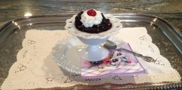 Chocolate pudding Cake 4