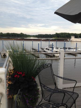 View from deck of Candlelight Inn
