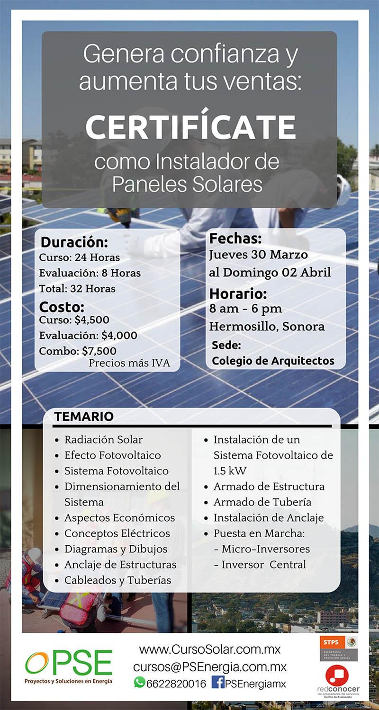 Psenerg 237 A Certif 237 Cate Como Instalador De Paneles Solares
