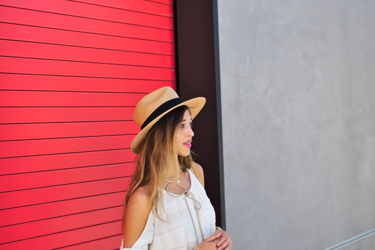 cuppajyo-sanfrancisco-fashion-lifestyle-blogger-bailey44-fancyfedora-weekendstyle-coldshoulder-whiteonwhite-6