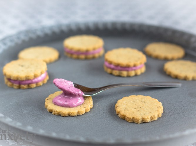 Good-for-You Lemon Filled Lavender Cookies | Curb Anxiety