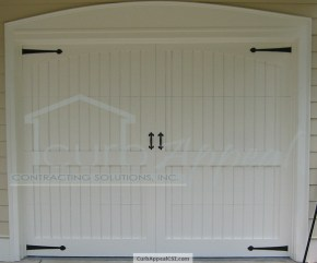 garage door panel replacement in alpharetta, ga