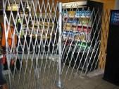Folding Security Gate Installed in Atlanta