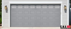 CHI Steel Garage Door