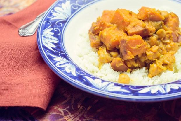 Gluten-Free Sweet Potato Korma | FrannyCakes