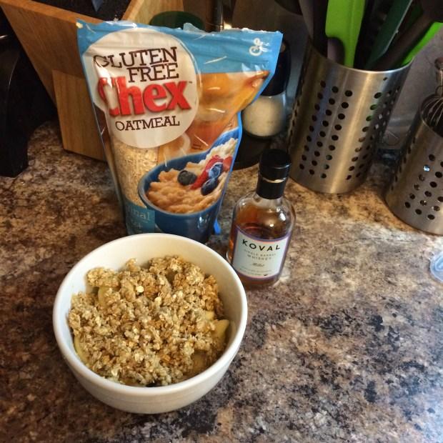 gluten-free apple crisp ingredients