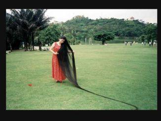 la mujer con el pelo mas largo del mundo