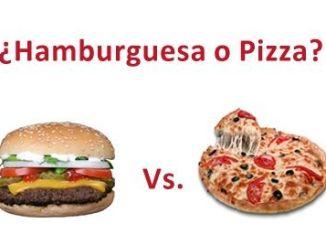 pizza hamburguesa