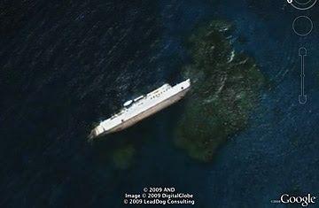 Descubrimiento curioso Google Earth 5