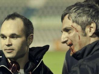 Andrés Iniesta debuta en Cine