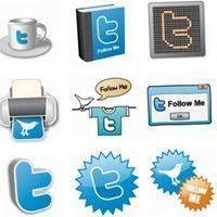 Iconos gratis Twitter