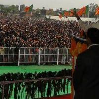 Story of a Narendra Modi rally