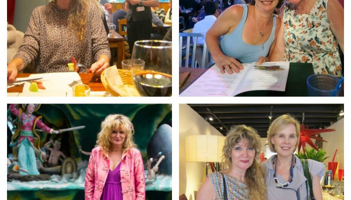 Four times the same woman with a different weight |curlytraveller.com