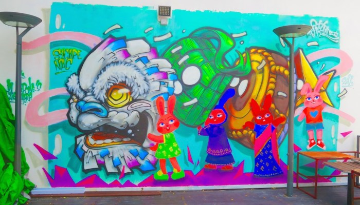 where to find street art in Singapore update 2016