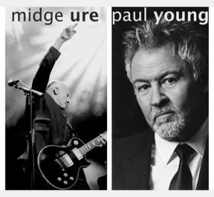 Brit co-headliners Midge Ure and Paul Young