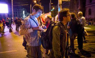 Casa Jurnalistului în acțiune, la proteste: Vlad Ursulean și Ștefan Mako