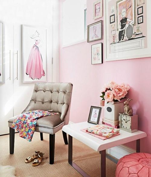 Inspiratie roze als accentkleur in je huis feel good lifestyle beauty - Kamer kleur man ...